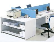 機器用テーブル 設置例