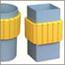ソフトプロテクター 街灯・柱・壁など、どんな場所でも取り付け簡単! 自在に曲がります。