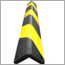 保護クッション(トラ柄) 衝撃吸収!反射材付きで夜間も安心。駐車場や工場での使用に最適な強力タイプ。
