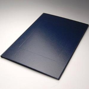 製本カバー アンバサダー ネイビーA4縦 背幅3.0mm